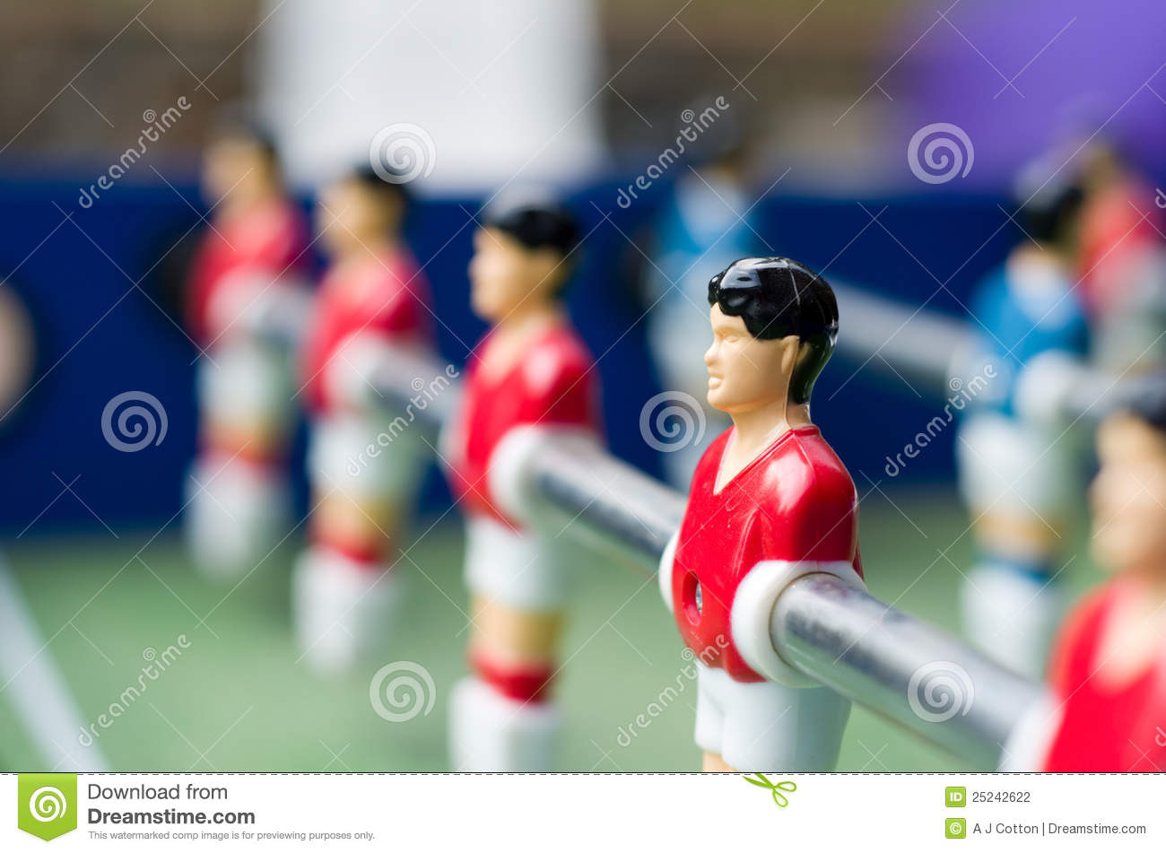 Close Up Table Soccer Stock Photography - Image: 25242622