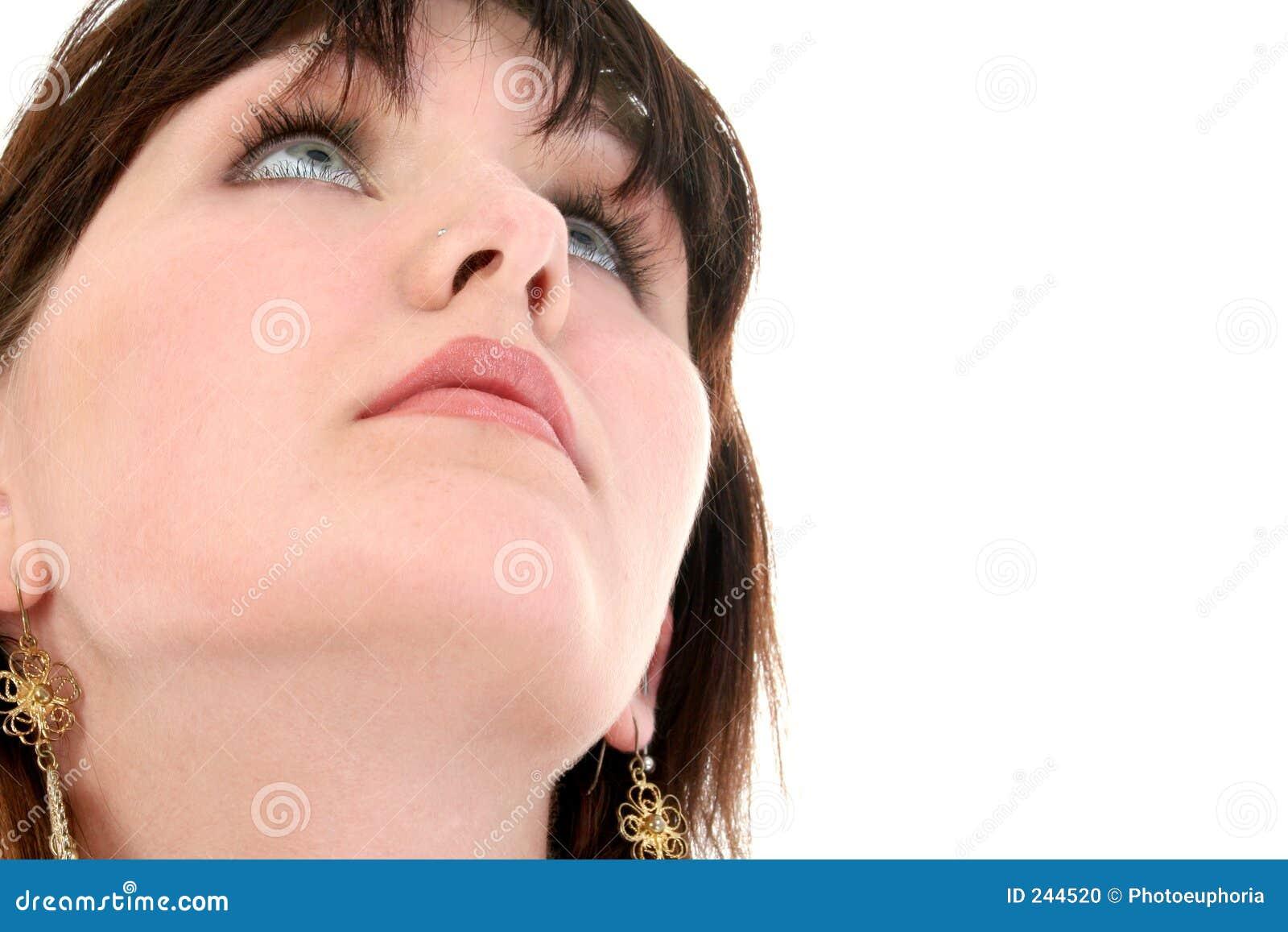 Teen Looking Up 37