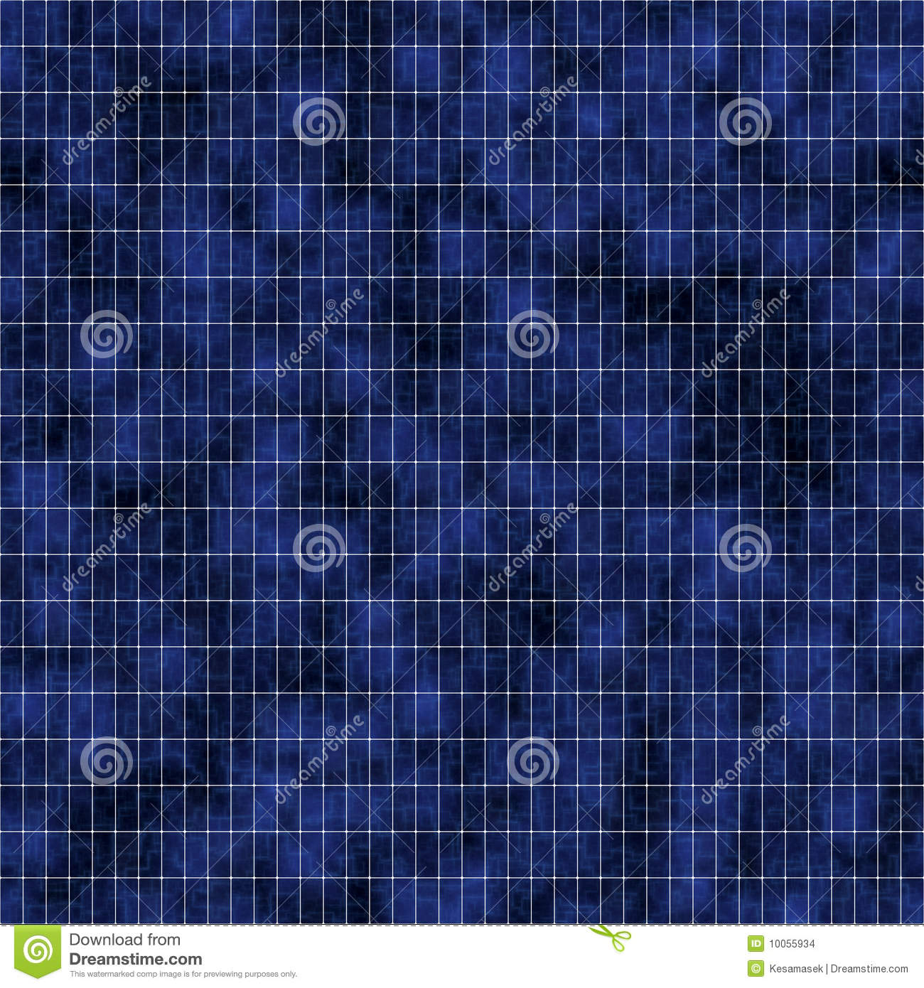 Close-up Texture Of Solar Panel Stock Images - Image: 10055934