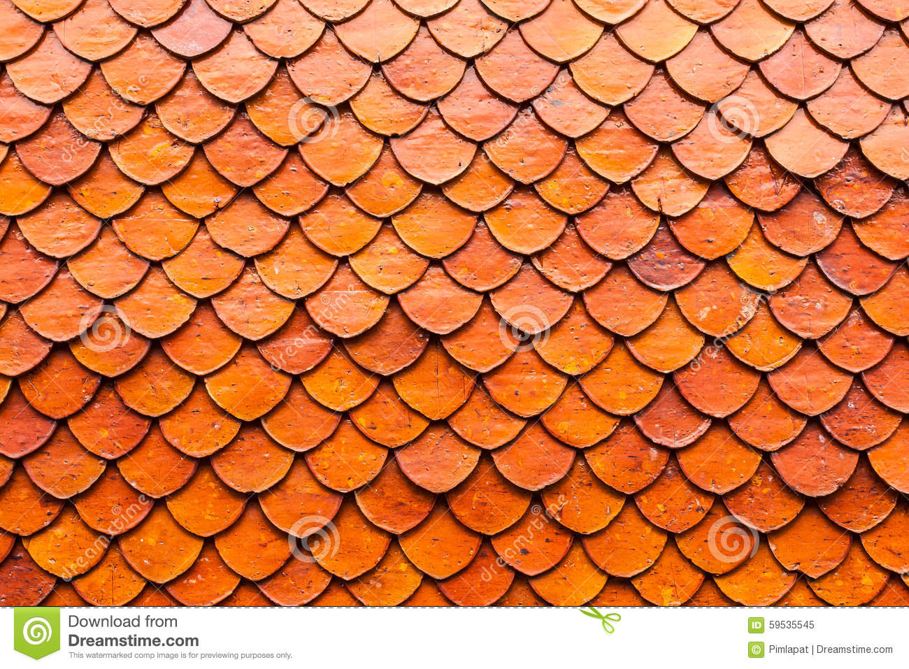 Close up thai ceramic roof tile of temple in bangkok stock image royalty free stock photo dailygadgetfo Image collections