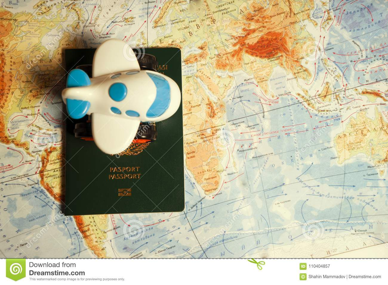 Close up the toy airplane and passport on the world map background close up the toy airplane and passport on the world map background travel and business concept stock image image of agent people 110404857 gumiabroncs Images