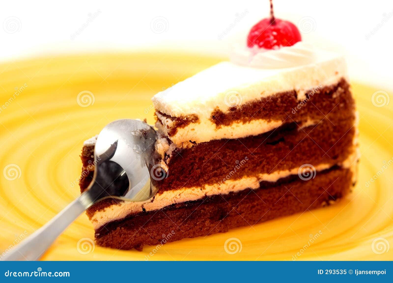 Close-up van cake