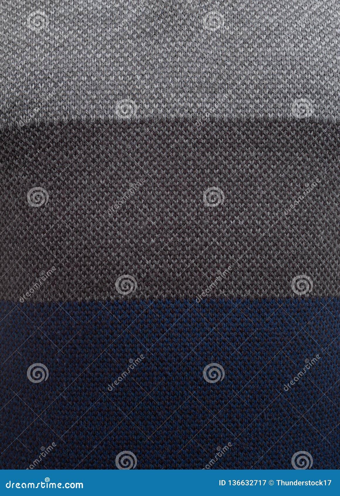 Close-up van drie gekleurde sweater