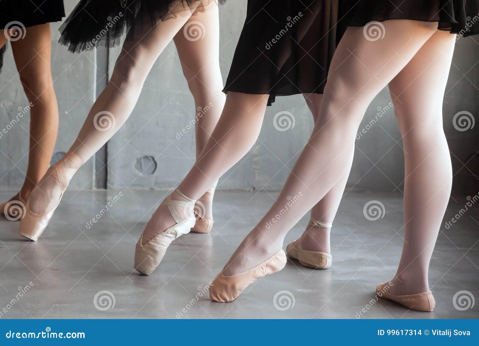 Close-up van een jong ballet