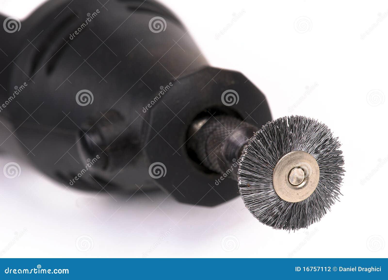 Close-up van Elektrisch Cirkel oppoetsend hulpmiddel