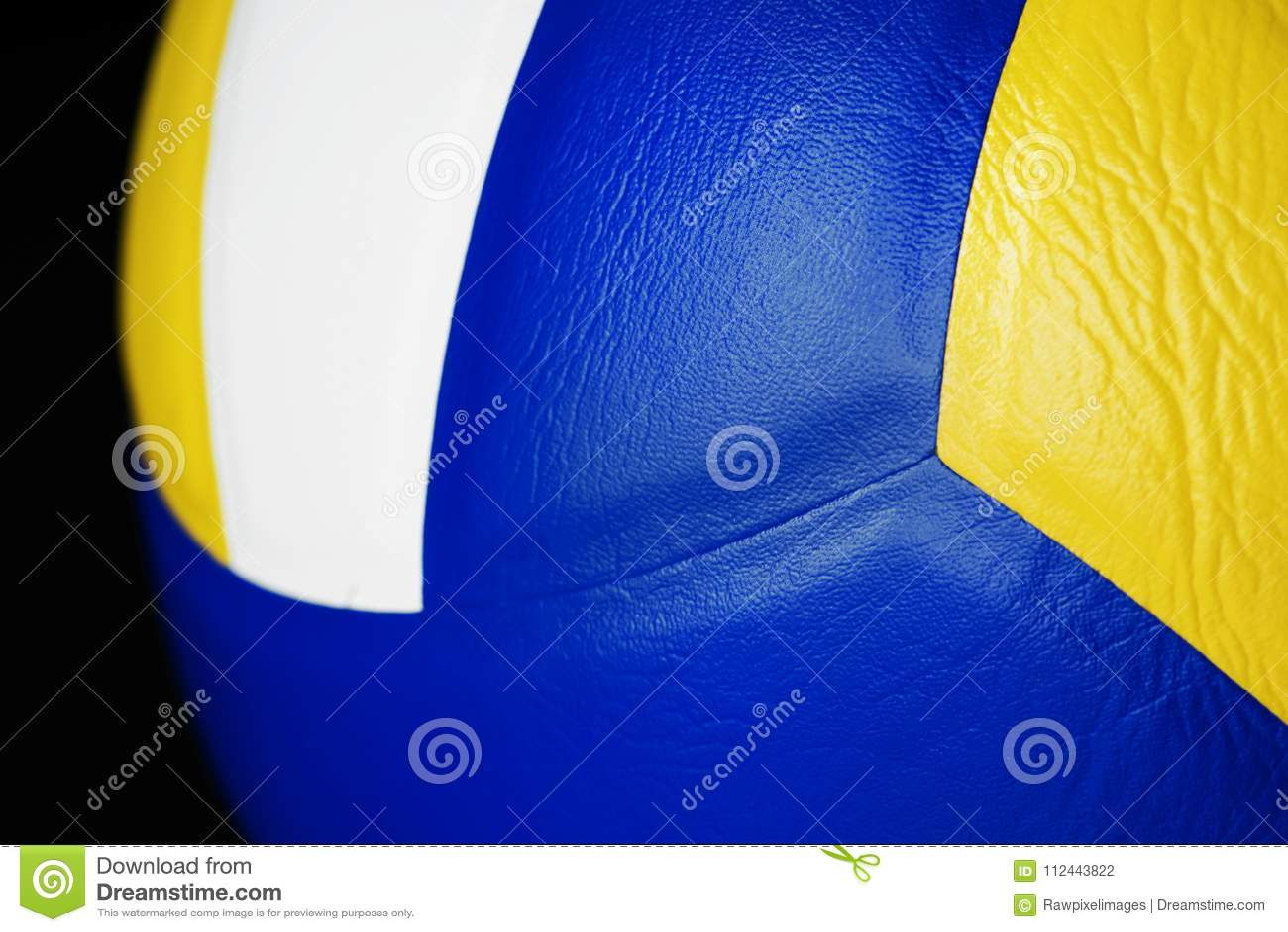 Close-up van het punt van Volleyballsporten