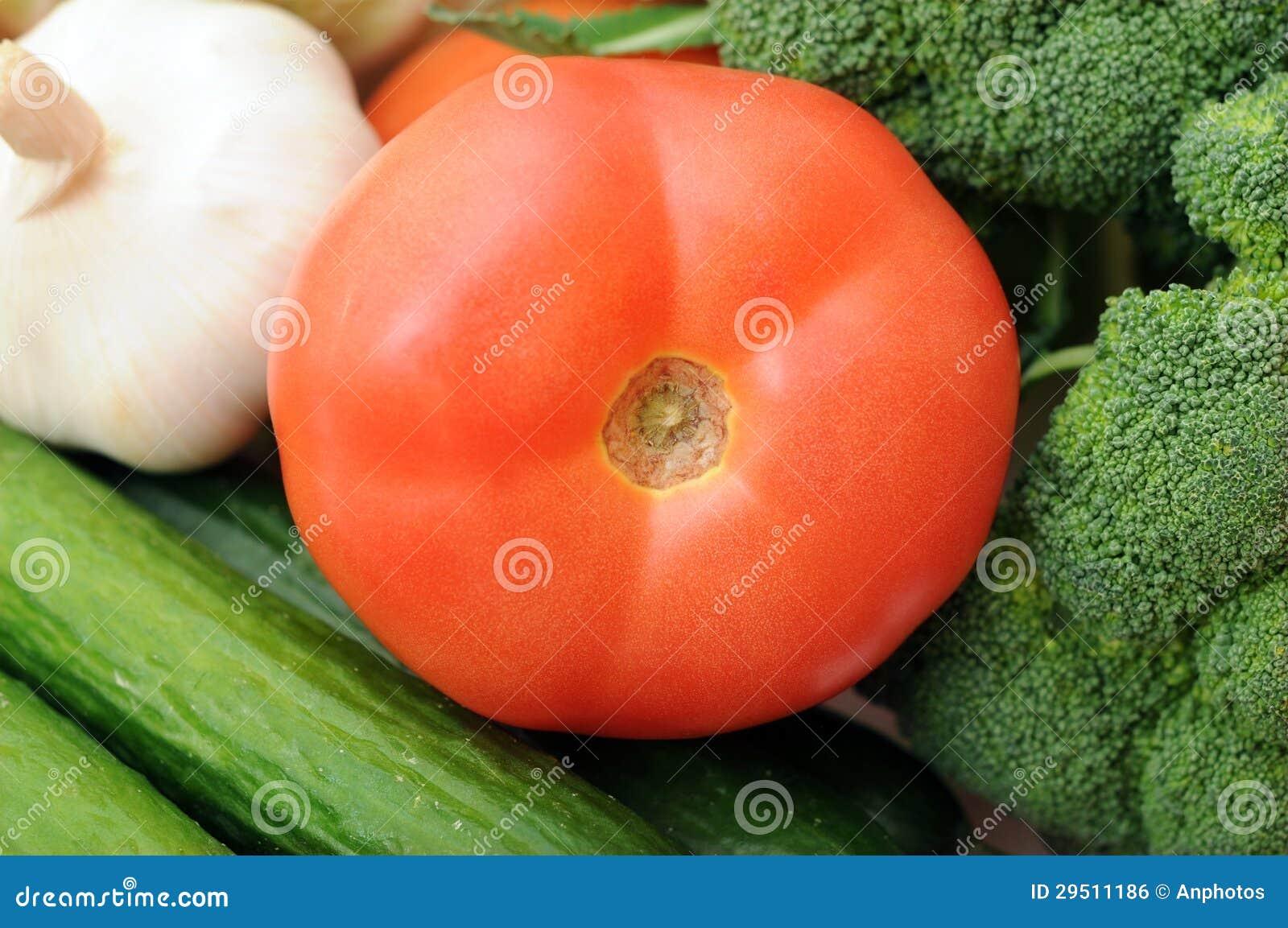Close-up van tomaat