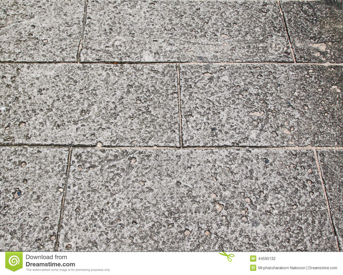 Close Up View Of Cracked Solid Natural Stone Stock Photo