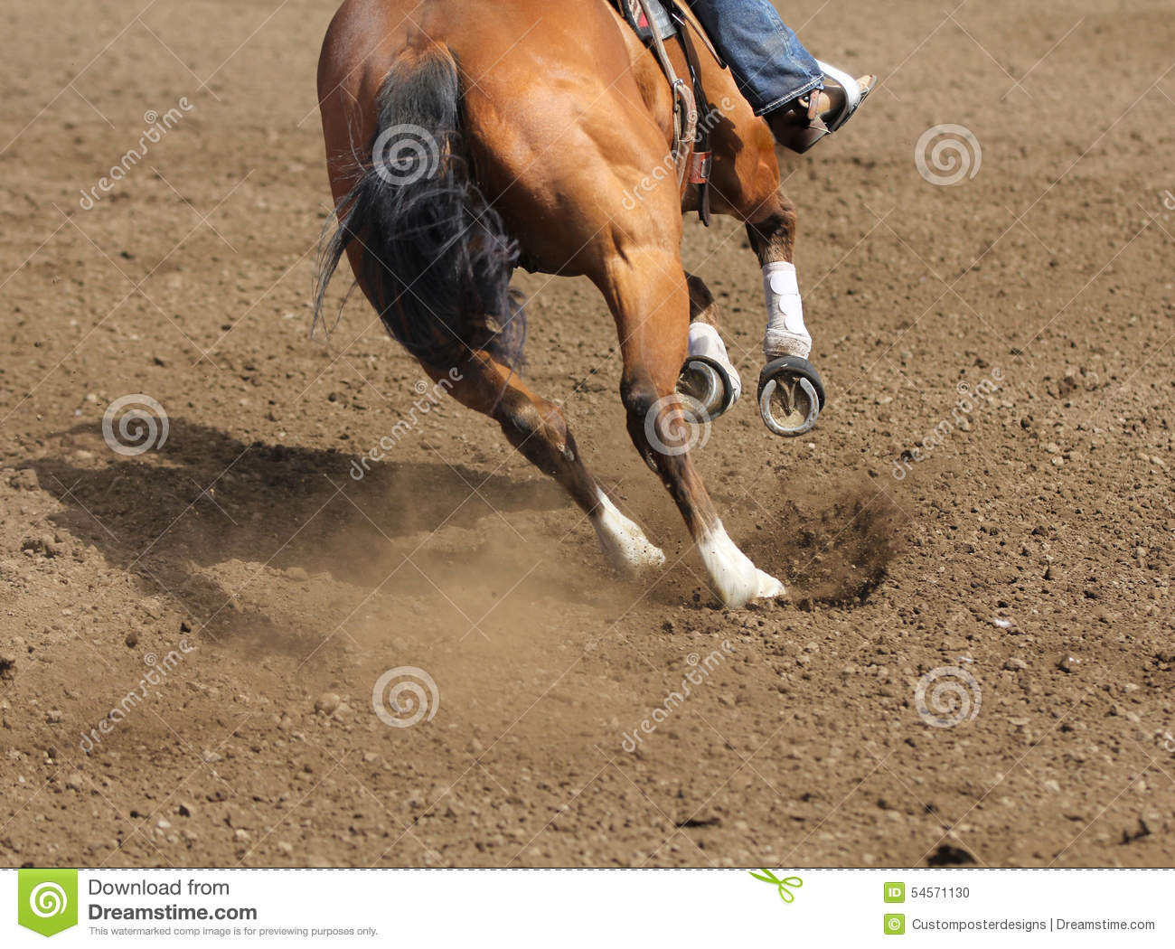 Download A Close Up View Of A Fast Running Horse And Flying Dirt. Stock Photo - Image of fast, flying: 54571130