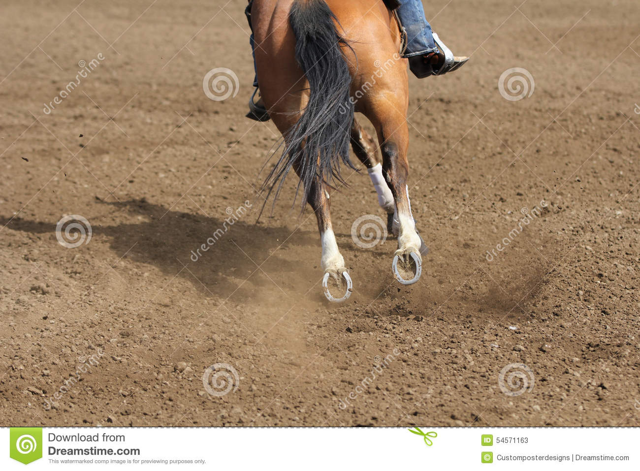 Download A Close Up View Of A Fast Running Horse And Flying Dirt. Stock Image - Image of competition, farm: 54571163
