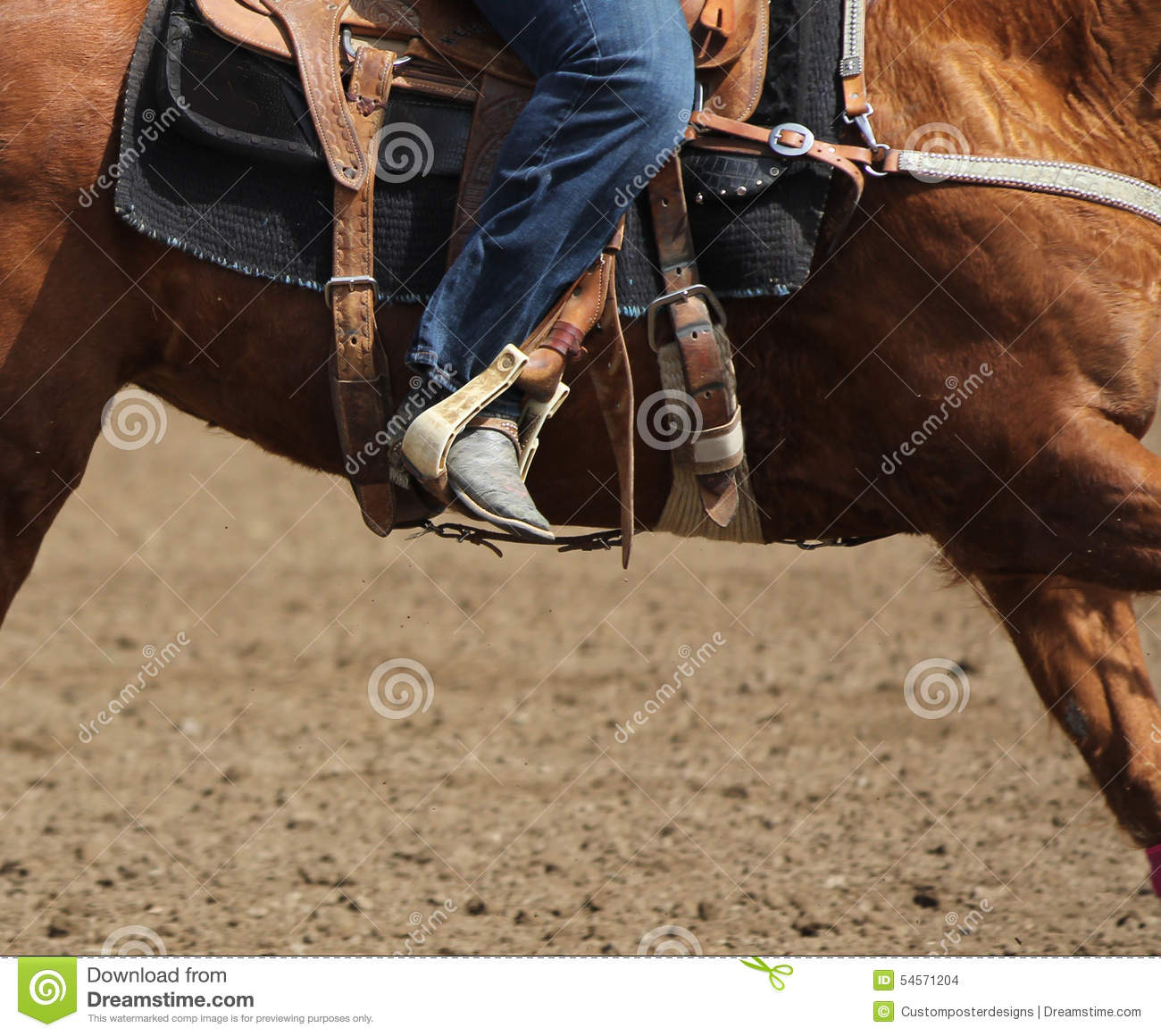 Download A Close Up View Of A Fast Running Horse And Flying Dirt. Stock Photo - Image of flying, equine: 54571204
