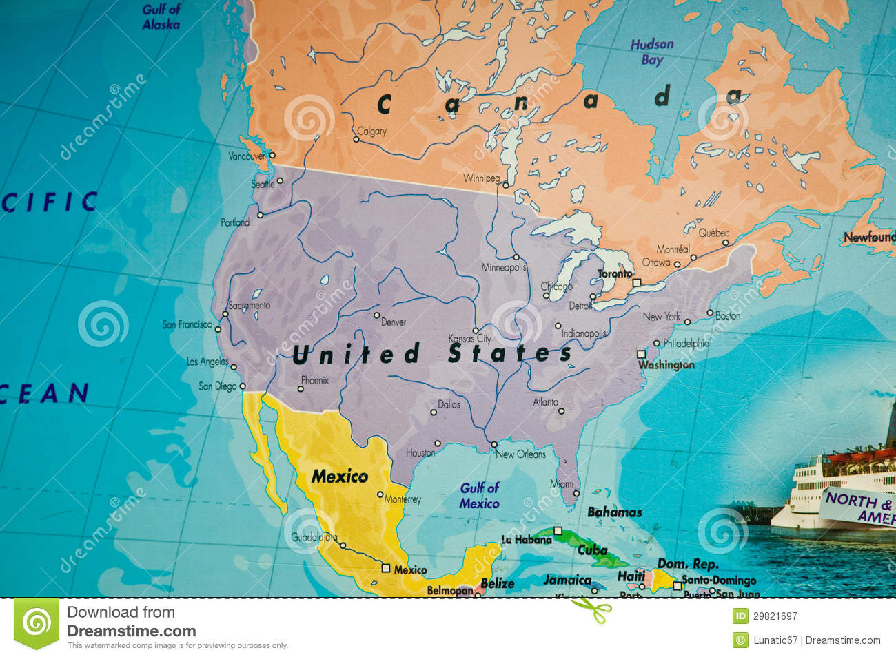 View Map Of United States.United States Map Stock Image Image Of Line Paper Creative 29821697
