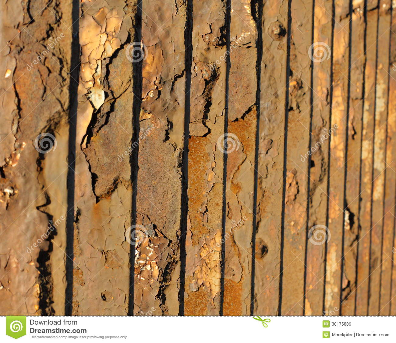 Old Metal Fence Royalty Free Stock Image Image 30175806