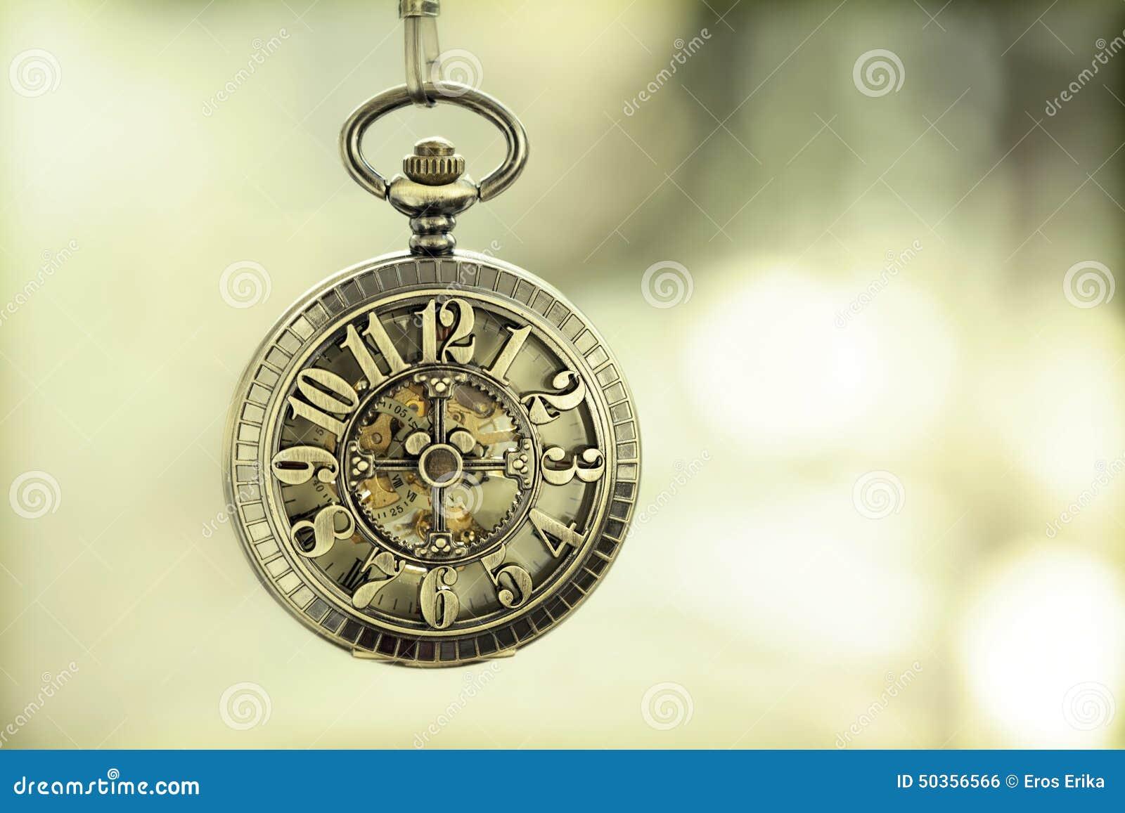 Close Up On Vintage Pocket Watch Stock Photo - Image: 50356566