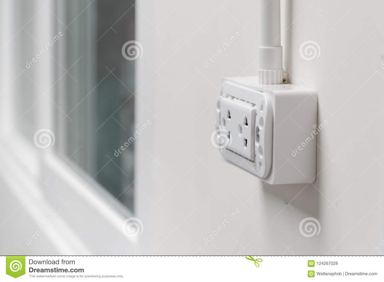 Home electrical system stock photo. Image of home, electric - 124267028