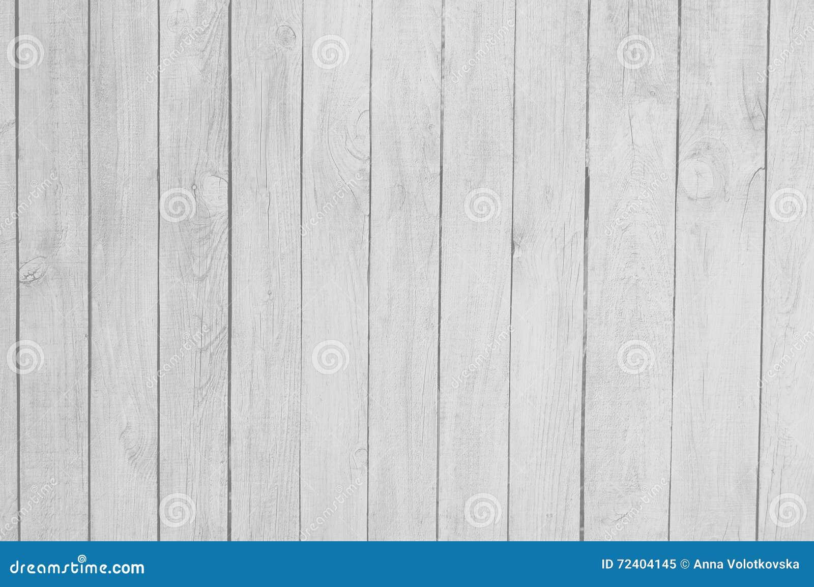 Close Up Of White Wooden Fence Panels. Stock Image - Image ...