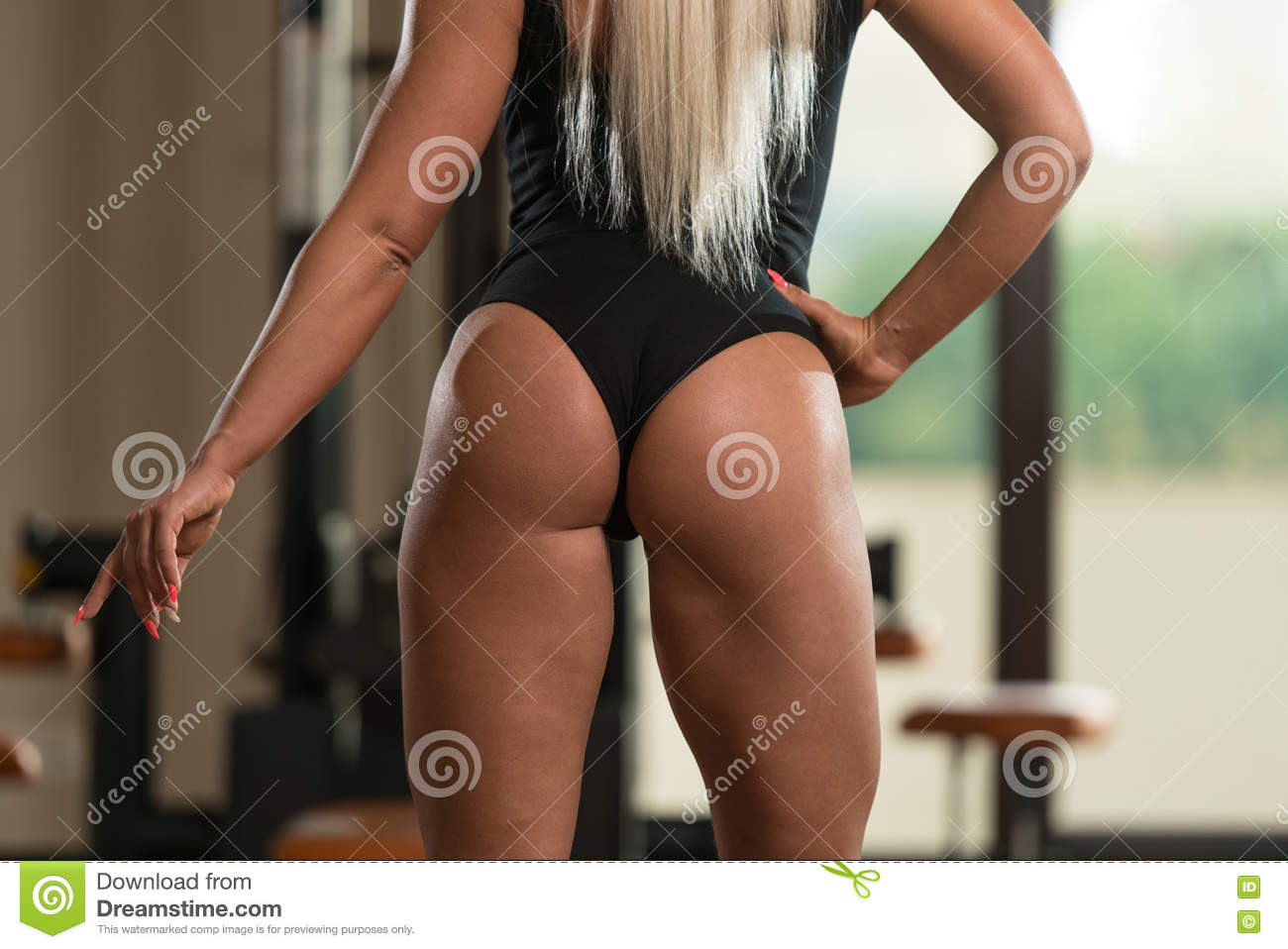 close-up of a woman stock image. image of athlete, flexing - 78160025