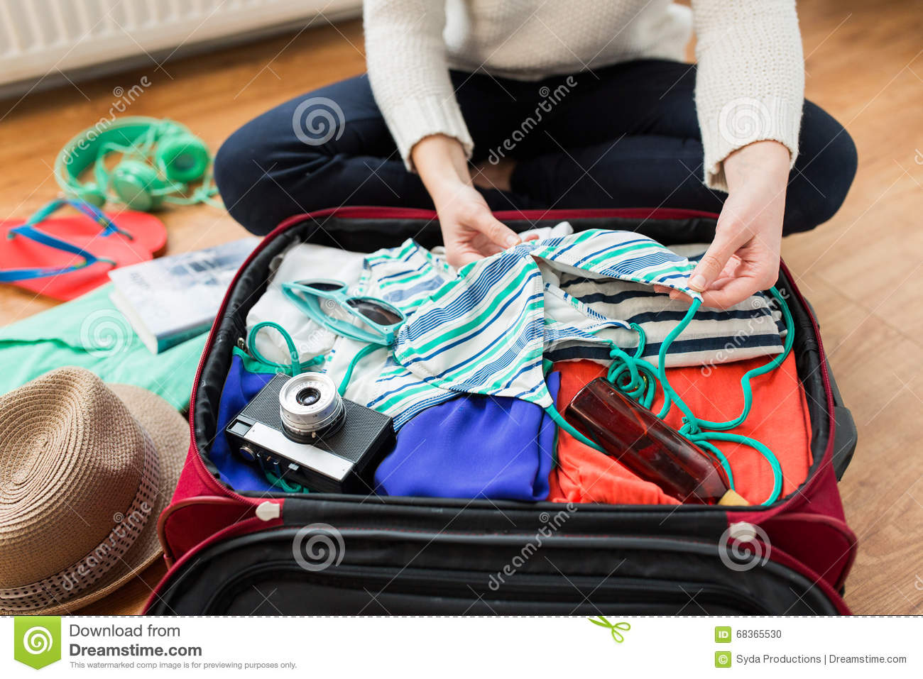 packing for vacation
