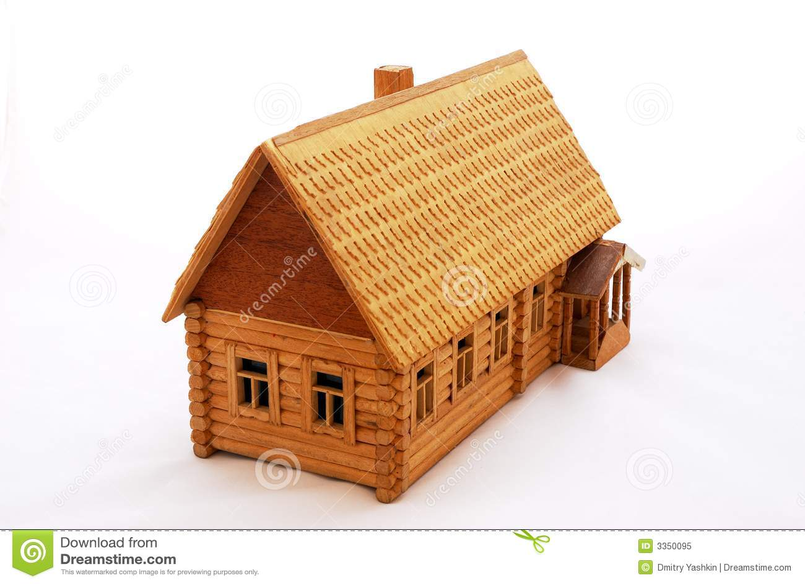 Close-up wood house