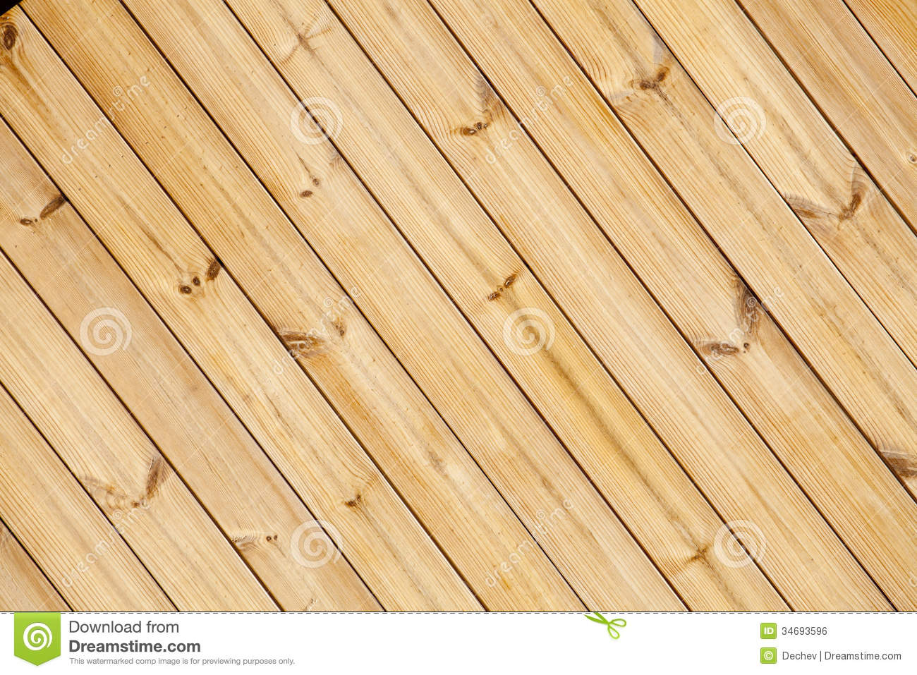 Close Up Of Wooden Fence Panels Stock Photo Image 34693596
