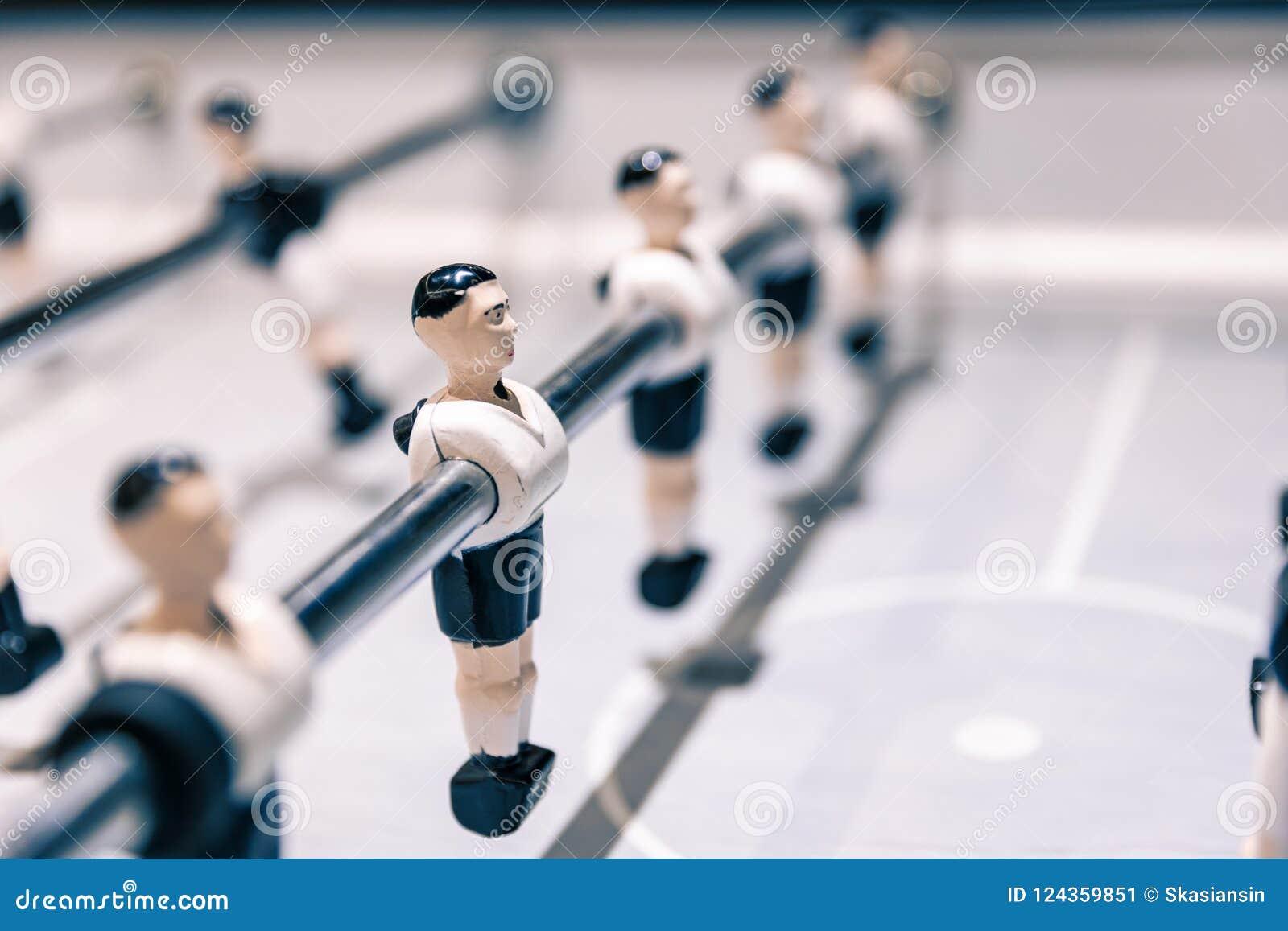 Close-upscène op lijstvoetbalsters