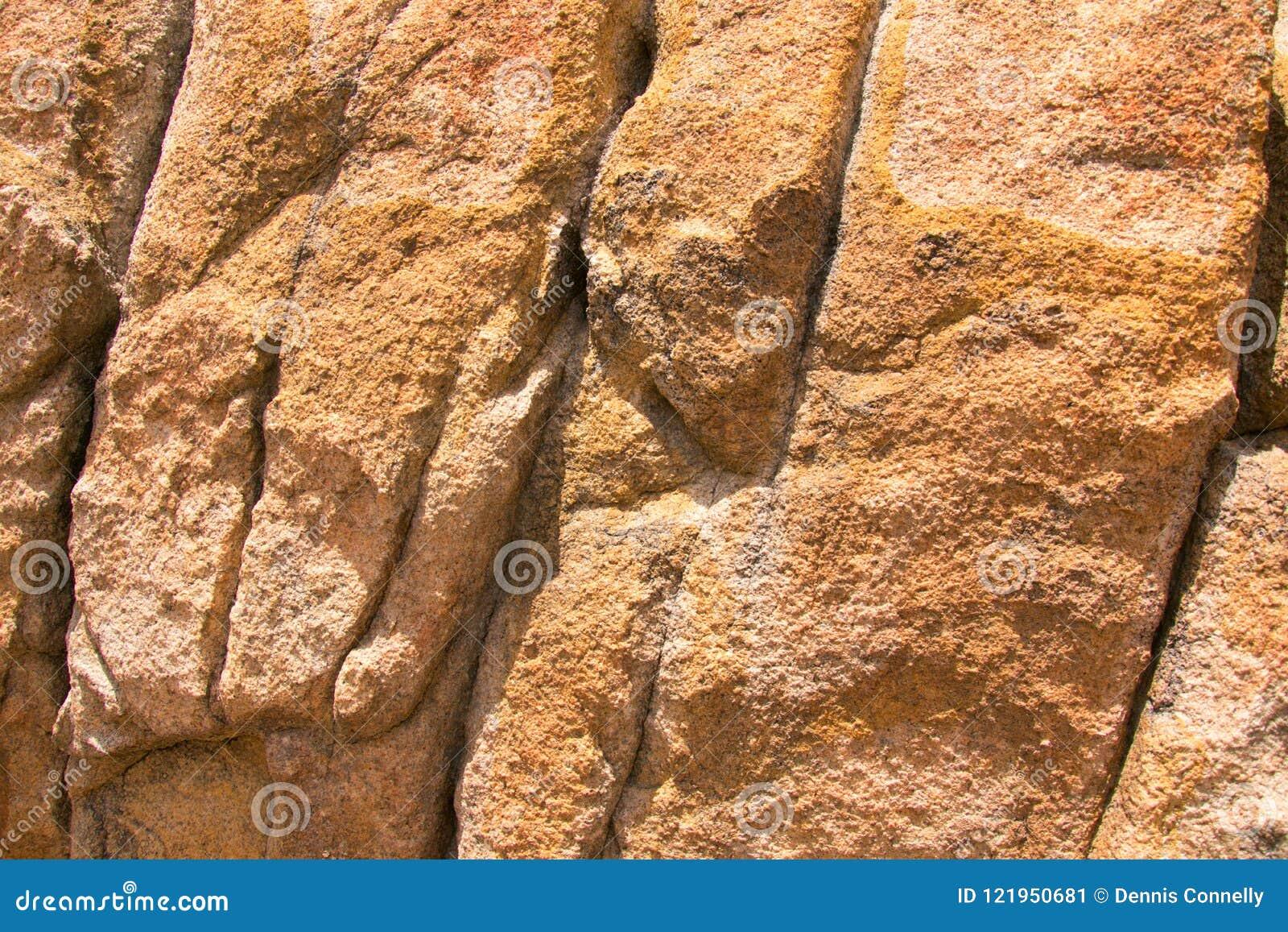 Close-uptextuur van granietrots