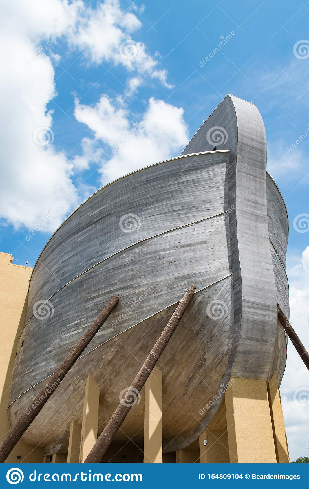 The stern of Noah`s Ark