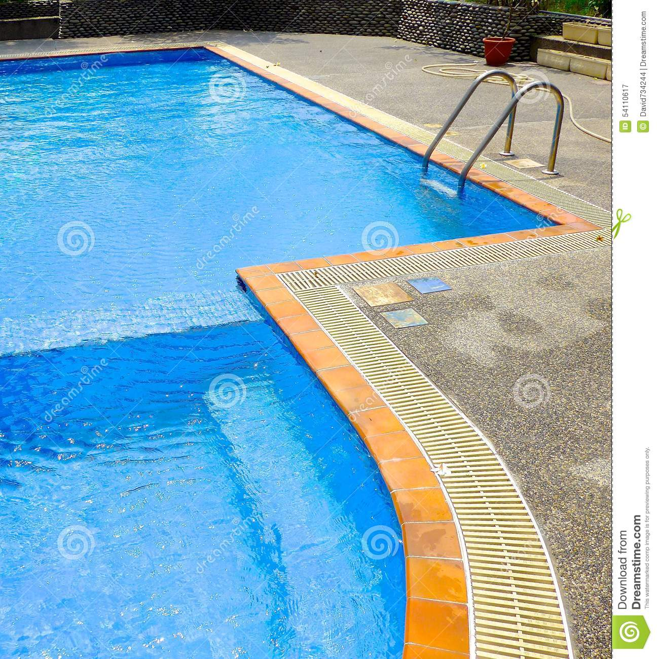 The Close View Of Swimming Pool Stock Photo Image 54110617