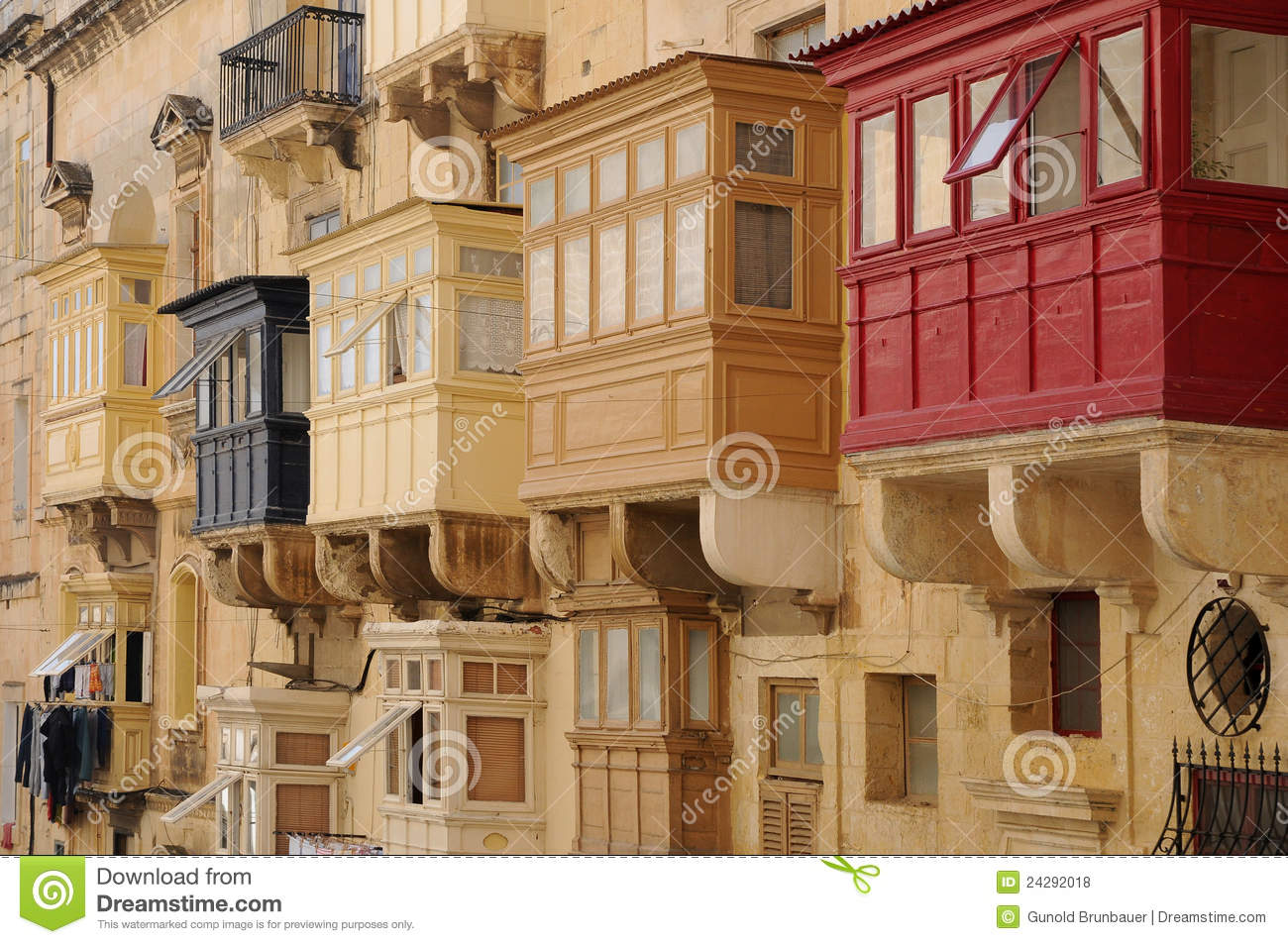 Closed balconies royalty free stock photos image 24292018 for Closed balcony
