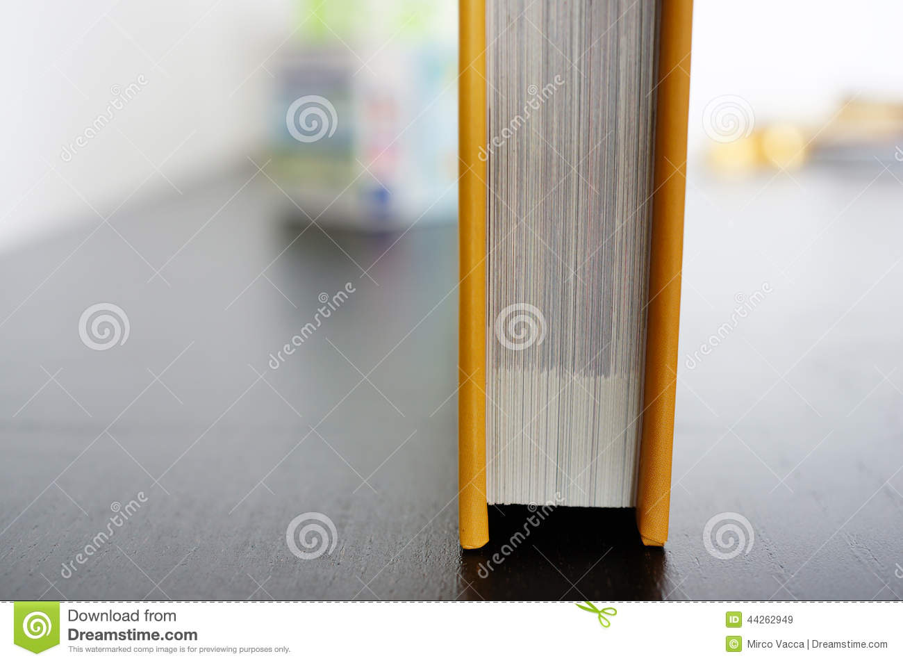 Closed Book Stock Photo - Image: 44262949