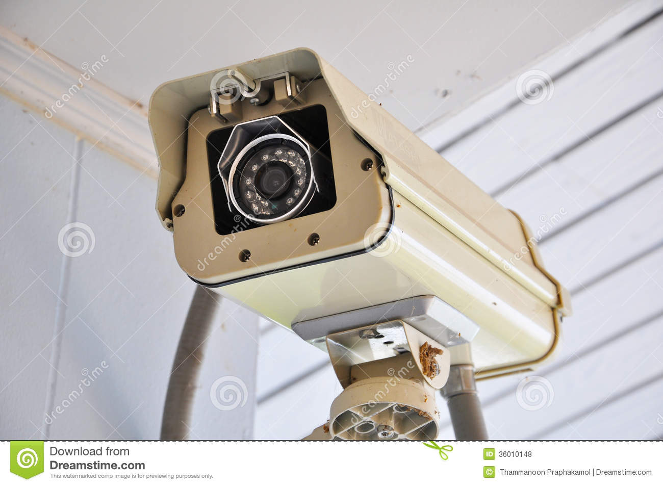 Closed Circuit Television Royalty Free Stock Photos
