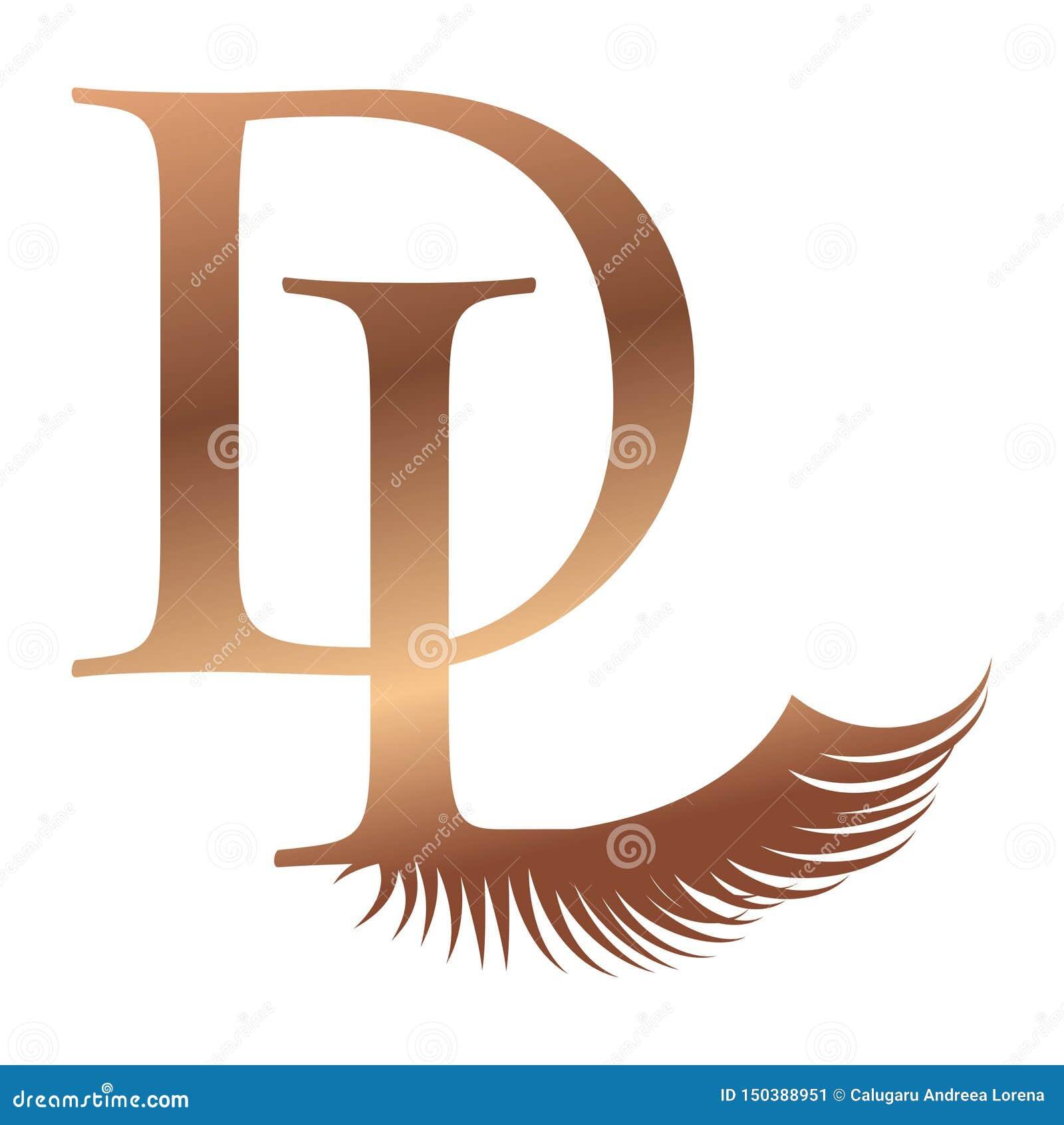 D L Logo Logo Monogram Dl Ld D L Stock Vector - Illustration of ...
