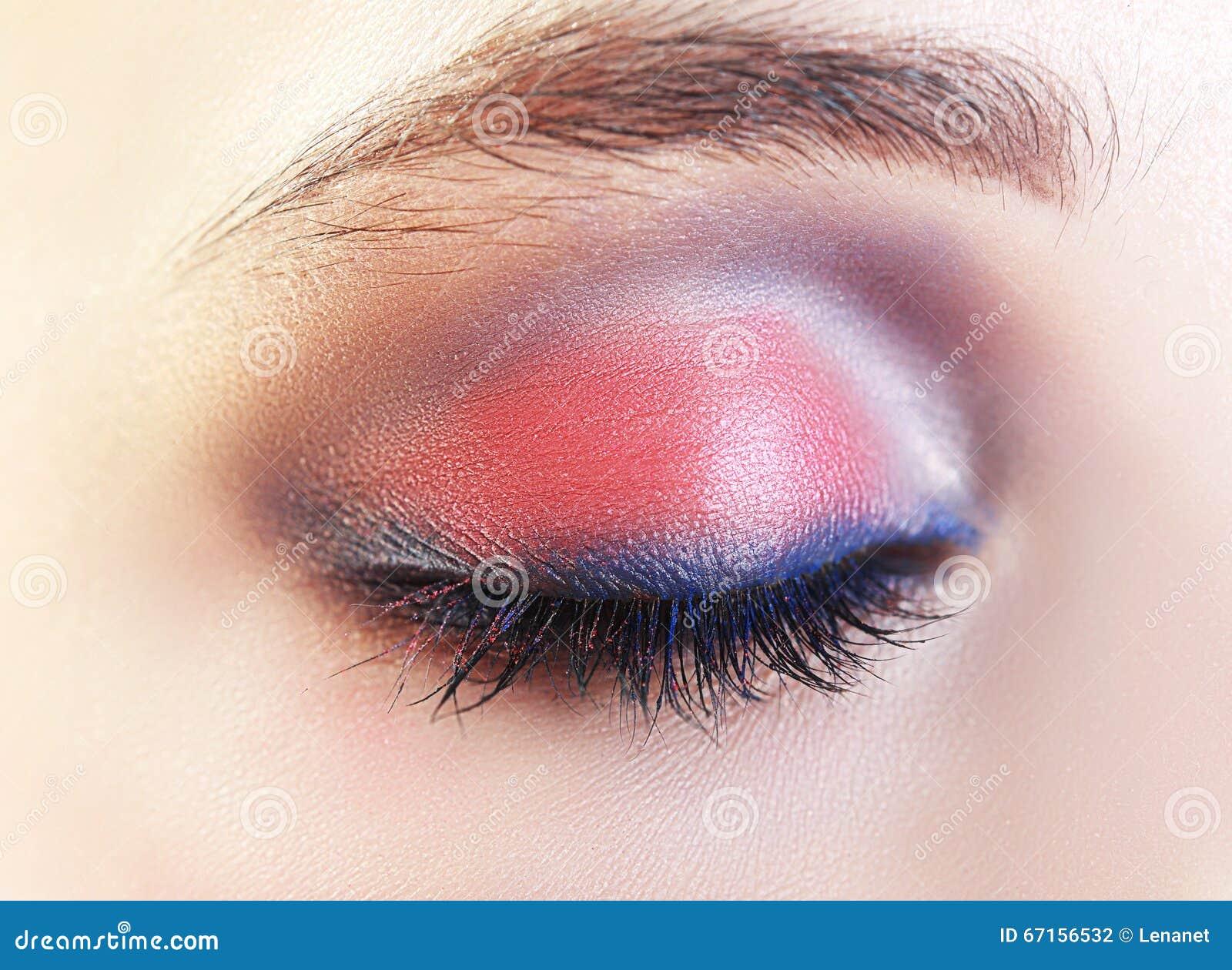 closed eye makeup stock photo image 67156532