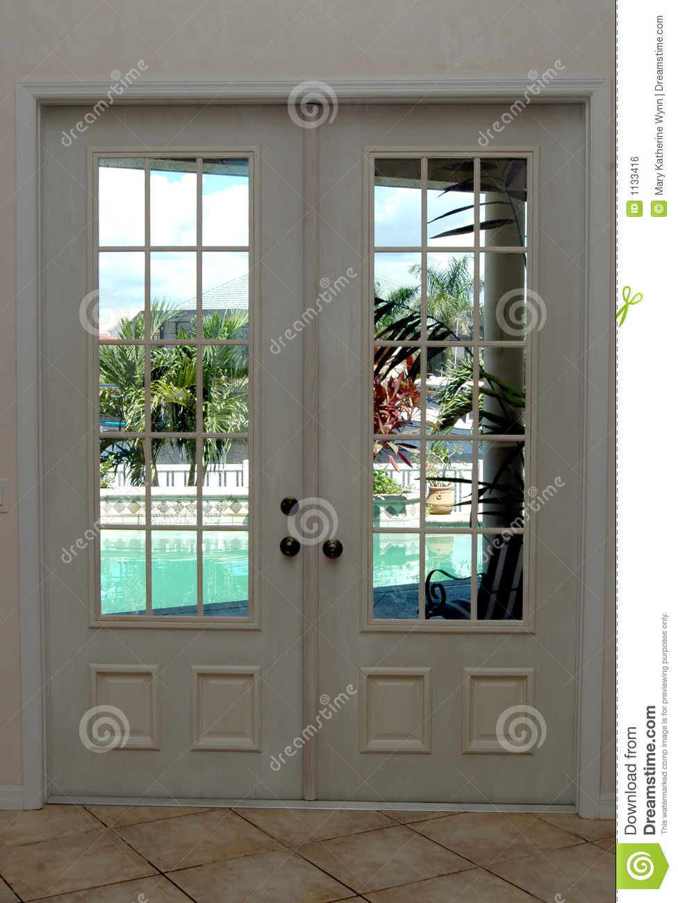 Closed french doors royalty free stock image image 1133416 for Looking for french doors