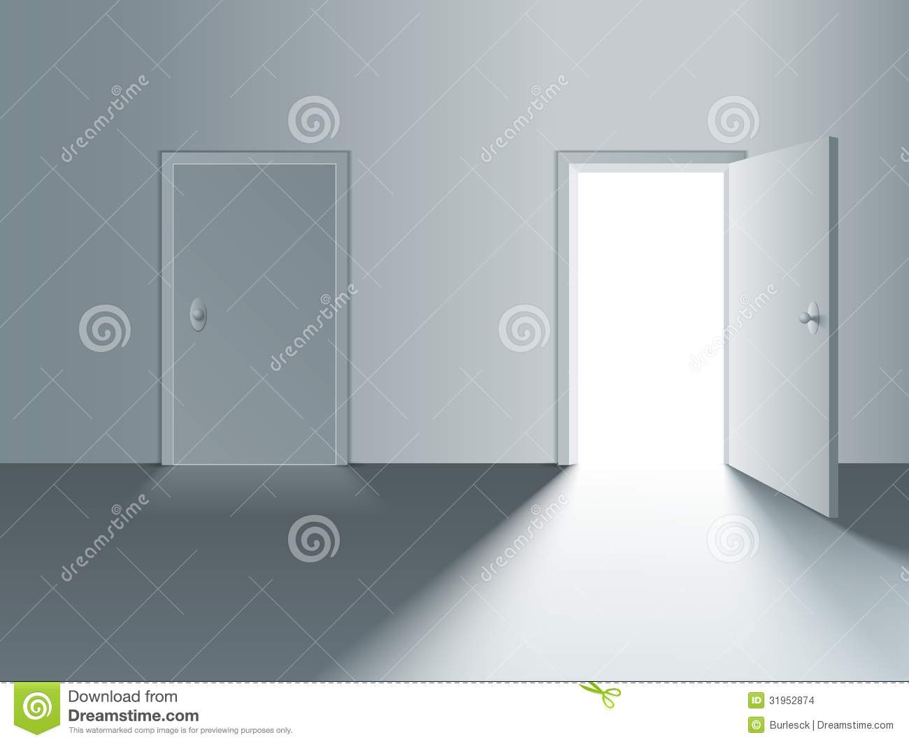 Open door closed door - Closed Door Open
