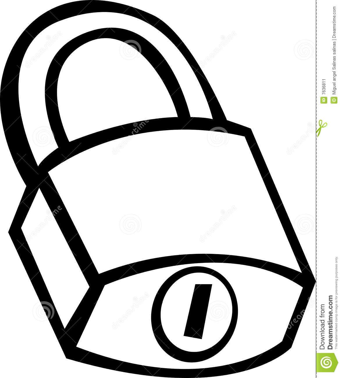 closed padlock vector illustration stock vector illustration of rh dreamstime com