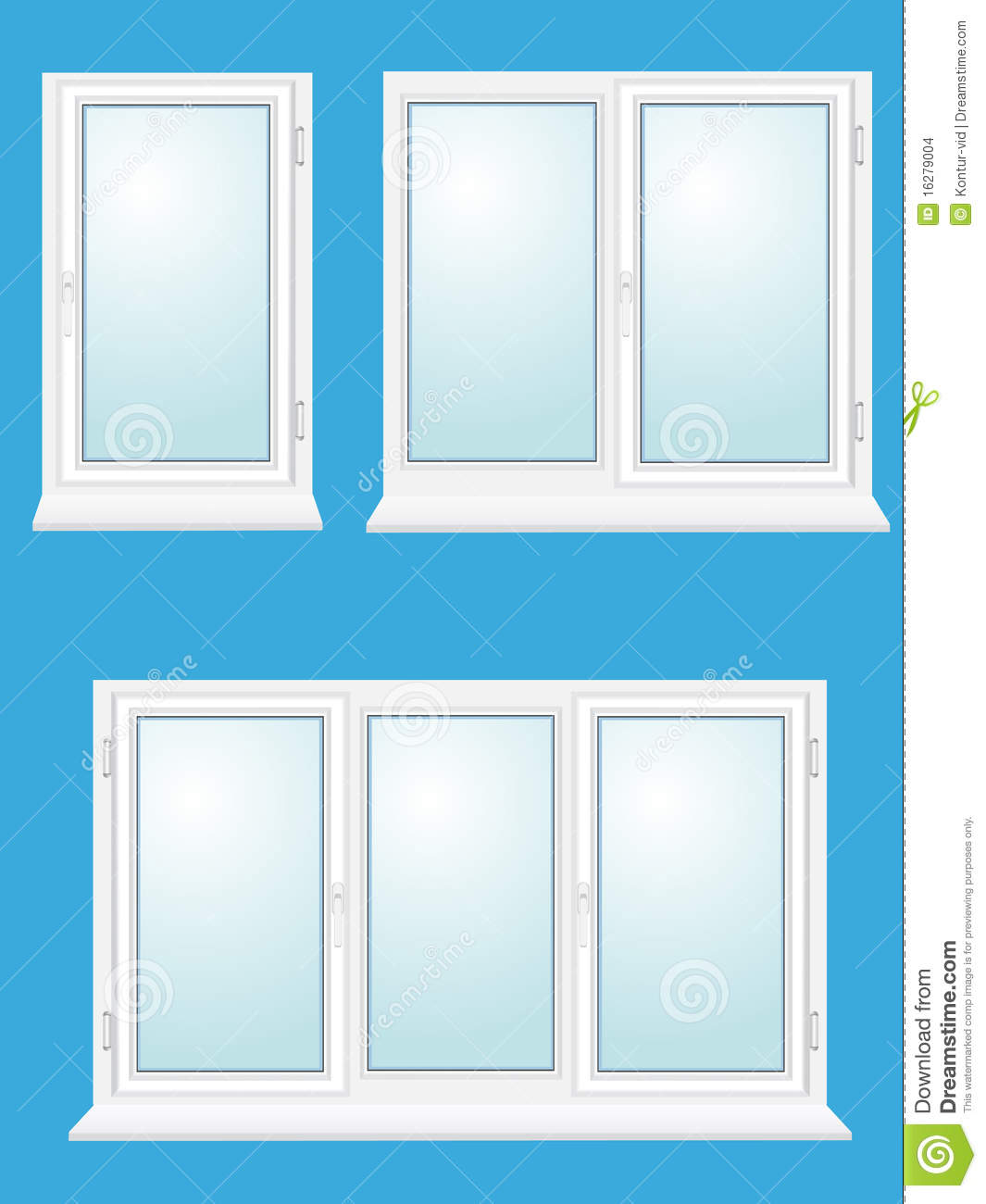 closed plastic glass window stock images