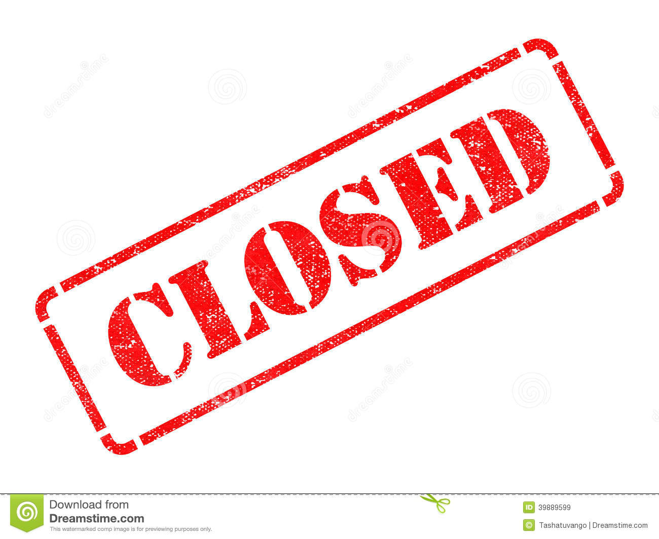 closed red rubber stamp stock image image of over