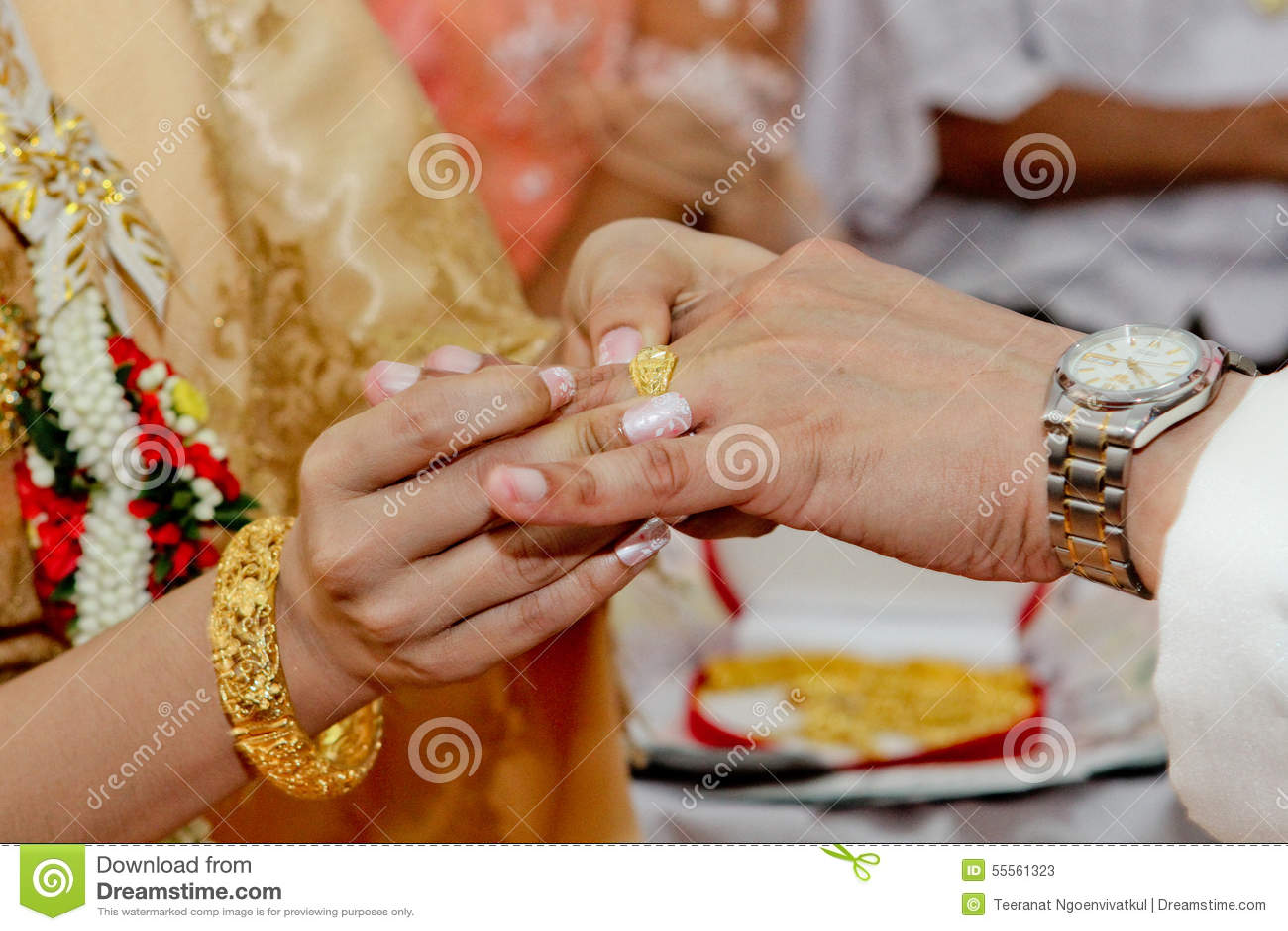 Wedding Rings Pictures thai customs wedding rings