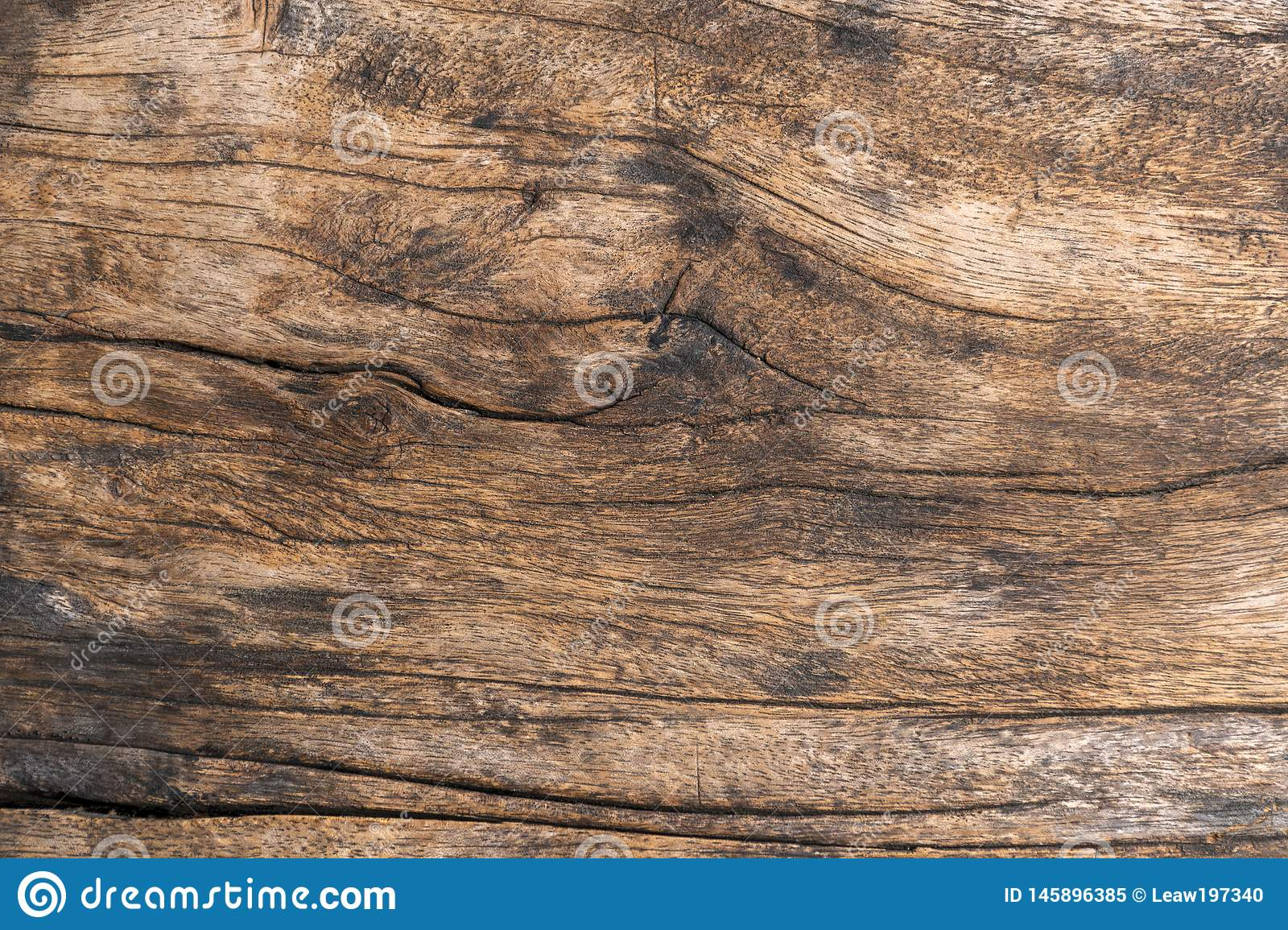 Closeup. Aged Solid Old Wood Slat Rustic Shabby Brown Background. Grunge Faded Wood Board Panel Structure. Hardwood Dark Weathered