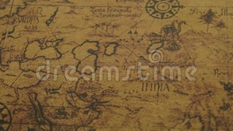 Closeup of ancient world map stock video video of earth closeup of ancient world map stock video video of earth background 115616261 gumiabroncs Choice Image