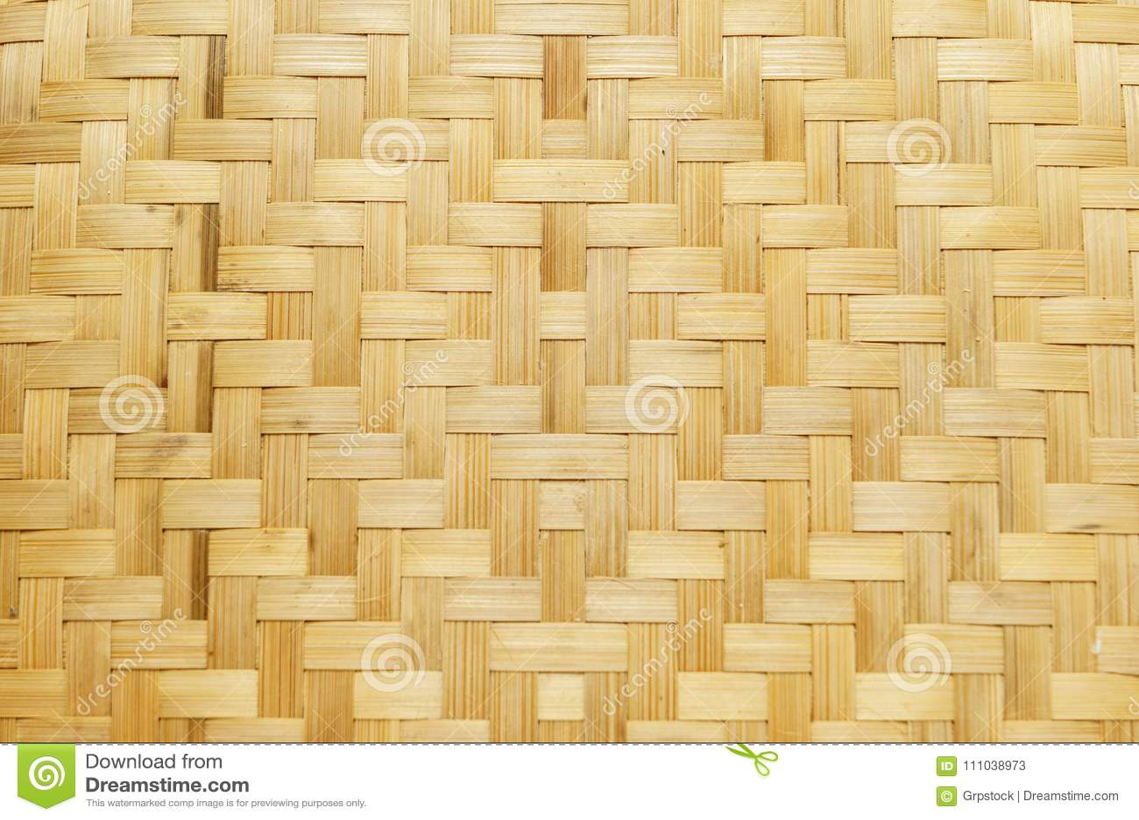 Bamboo Weave Texture Abstract Art Background Handicraft Design