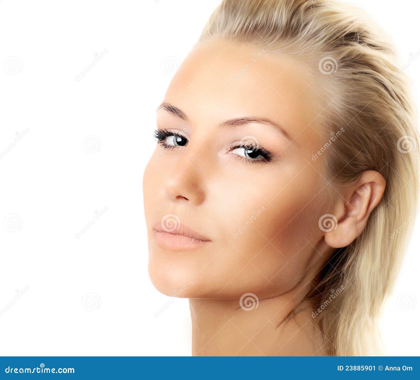 Фото красивого лица крупным планом 6 фотография