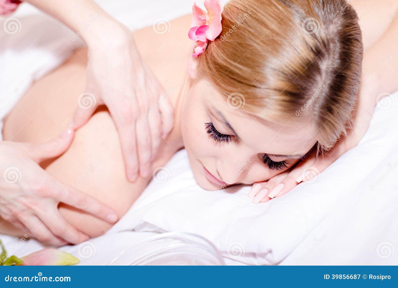 Pretty girl massaging the penis 2