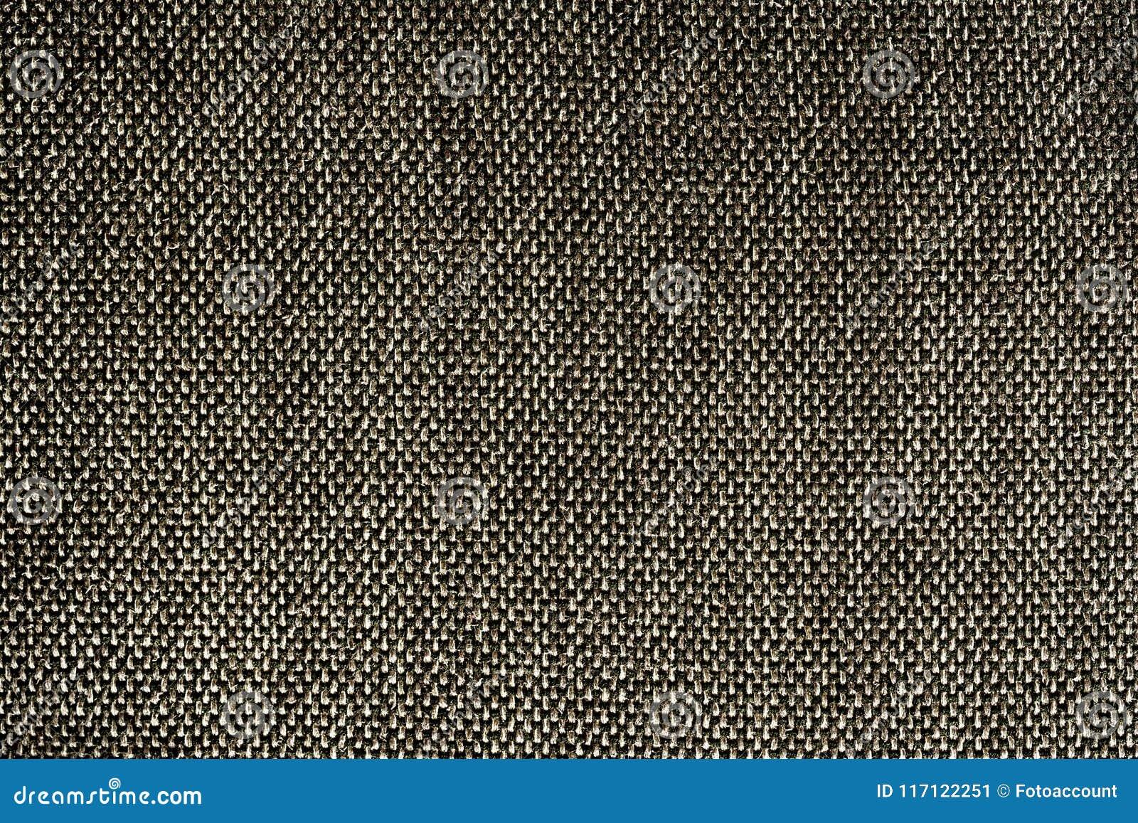 Closeup Black Color Synthetic Fabrics Texture - Pattern Design