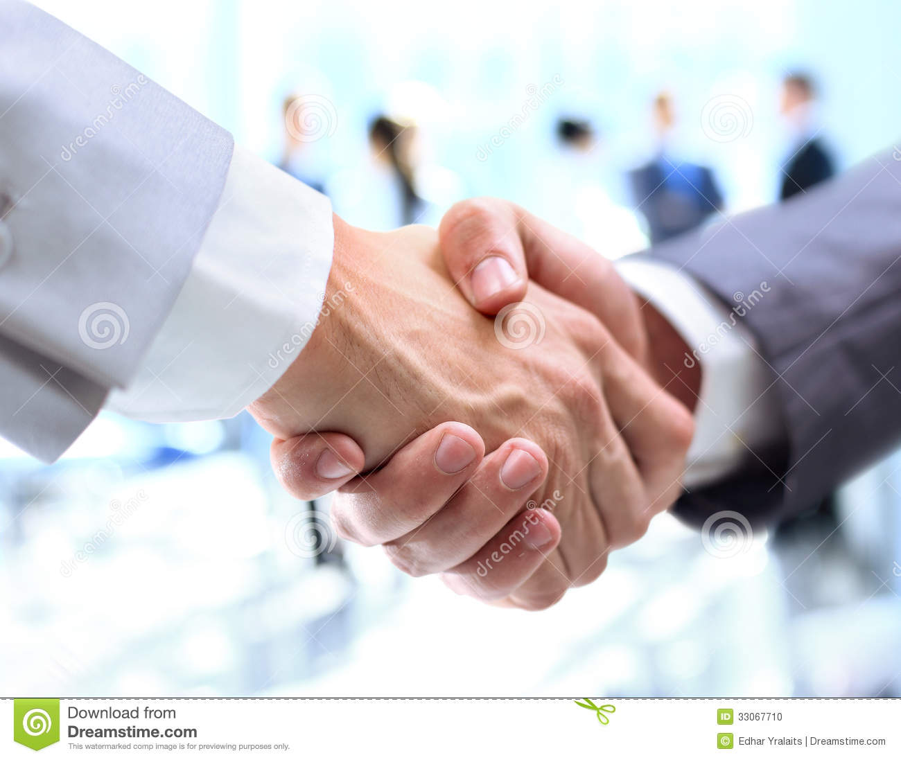 closeup of a business handshake stock photo image 33067710 Customer Clip Art Satisfied Customer Clip Art