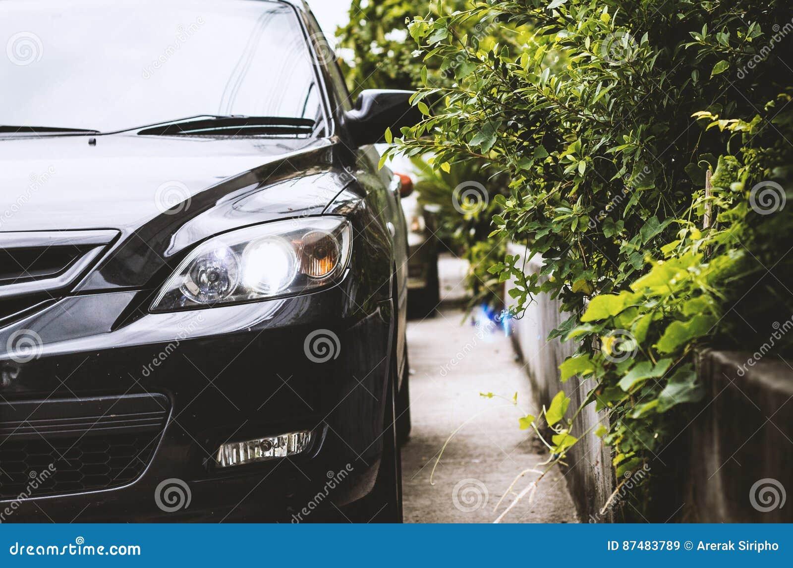 closeup of headlight of car stock photo 33782964. Black Bedroom Furniture Sets. Home Design Ideas
