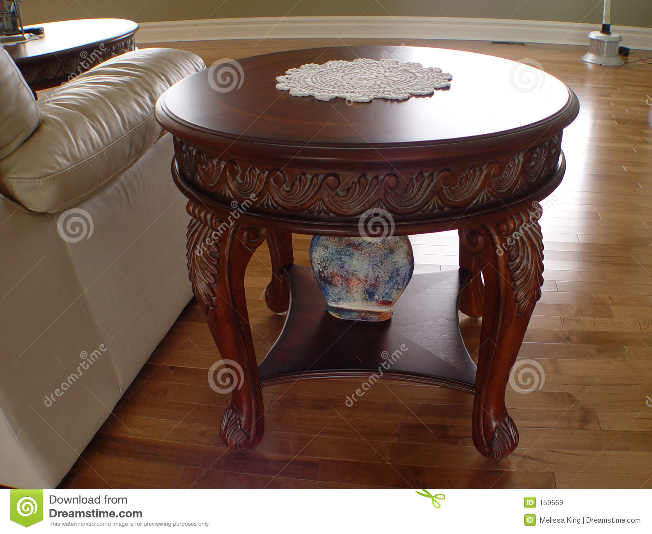 Closeup of Coffee Table