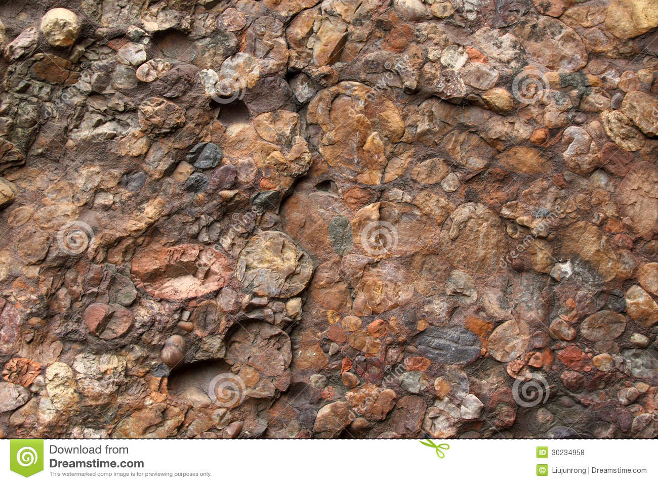 Color rock landscape royalty free stock photos image for Different color rocks for landscaping
