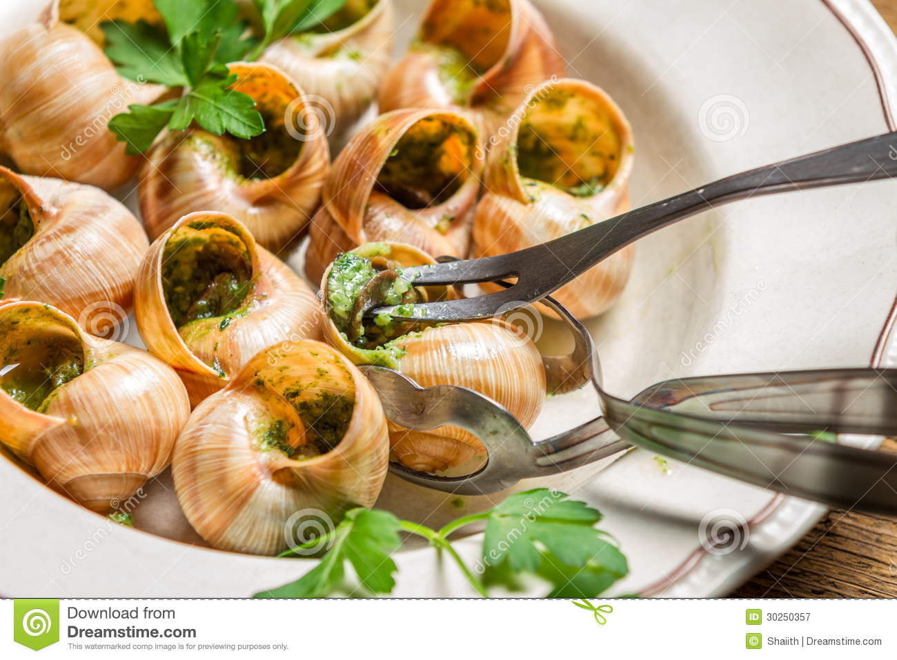 http://thumbs.dreamstime.com/z/closeup-eating-fried-snails-garlic-butter-old-plate-30250357.jpg